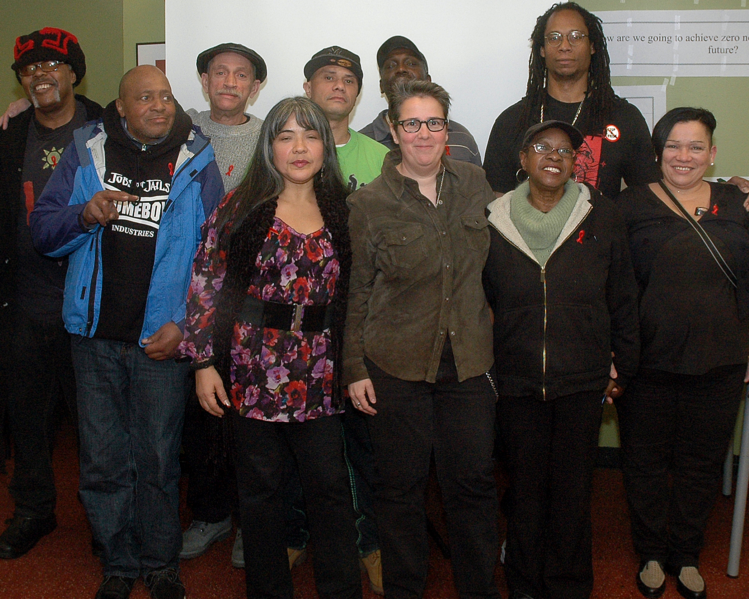 Poet`s Café: Gerry Gomez Pearlberg with members of the ASCNYC Creative Writing Workshop