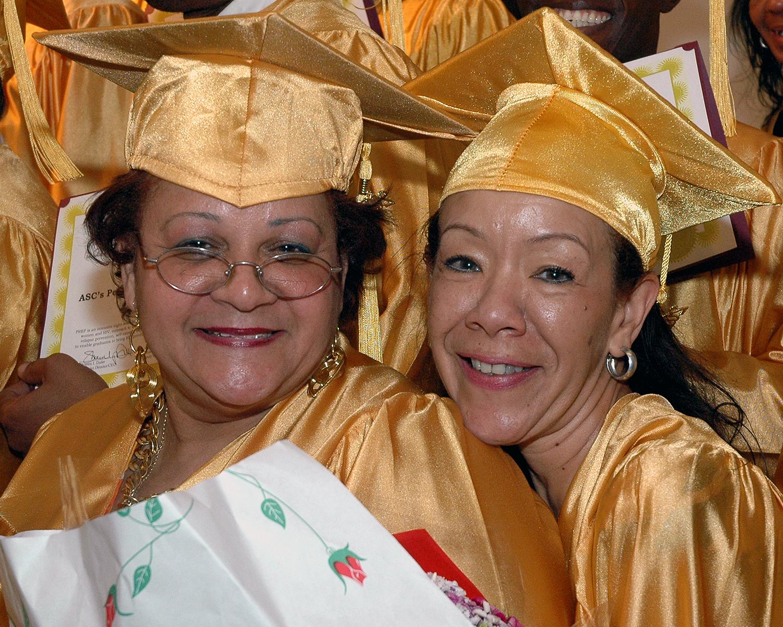 Lourdes Albert and Maria Bautista