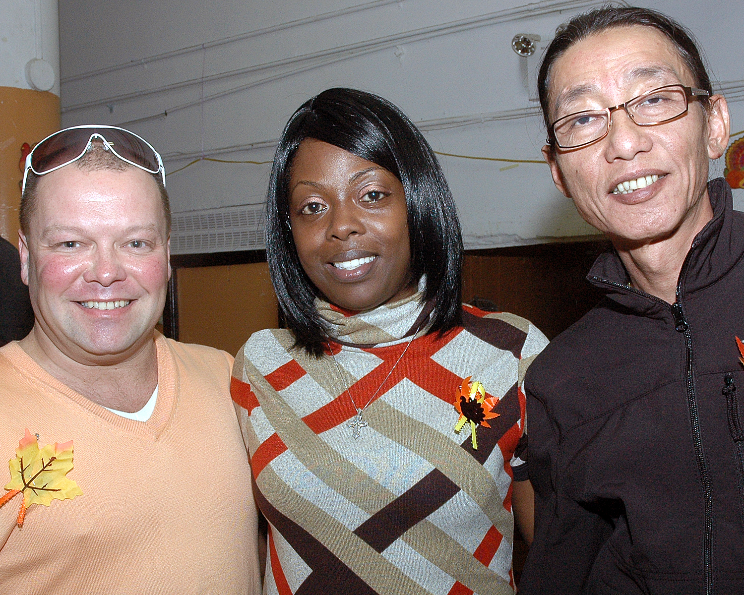Frederick Kinney, Tamaqua Pierce and Yonewin Maung