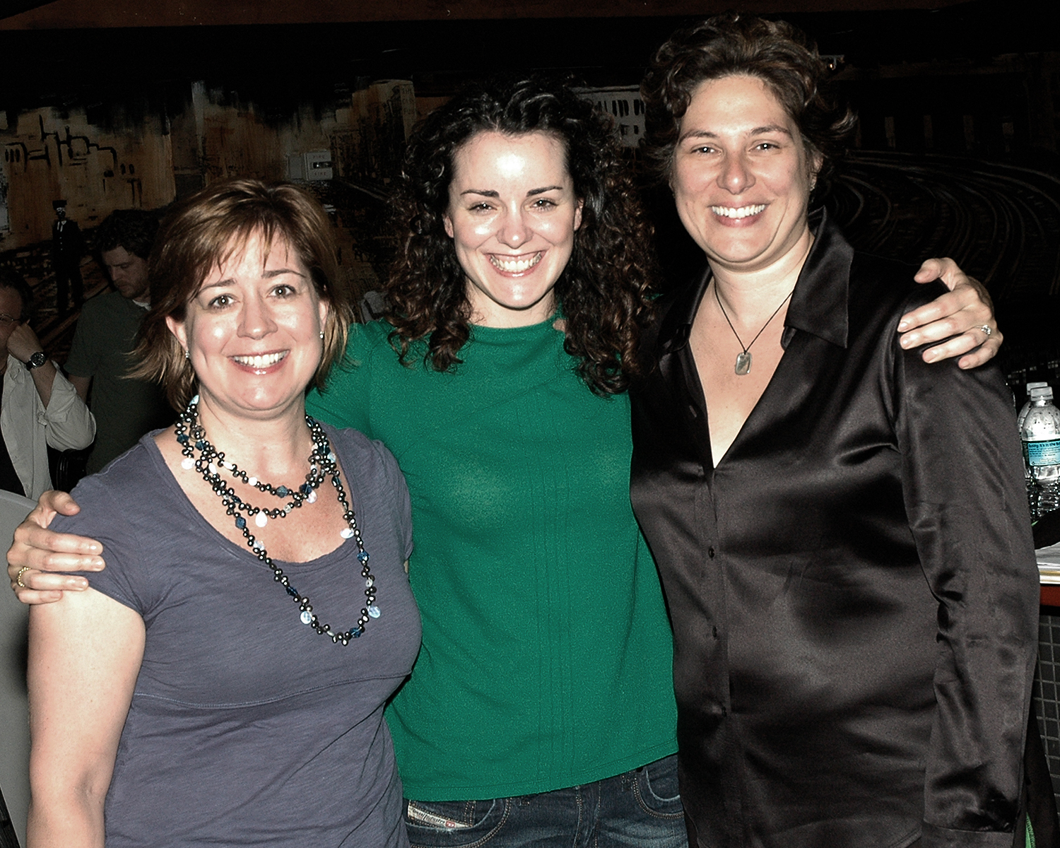 Anne West-Church with Annie Groeber and Nadine Licostie of Red Thread Productions