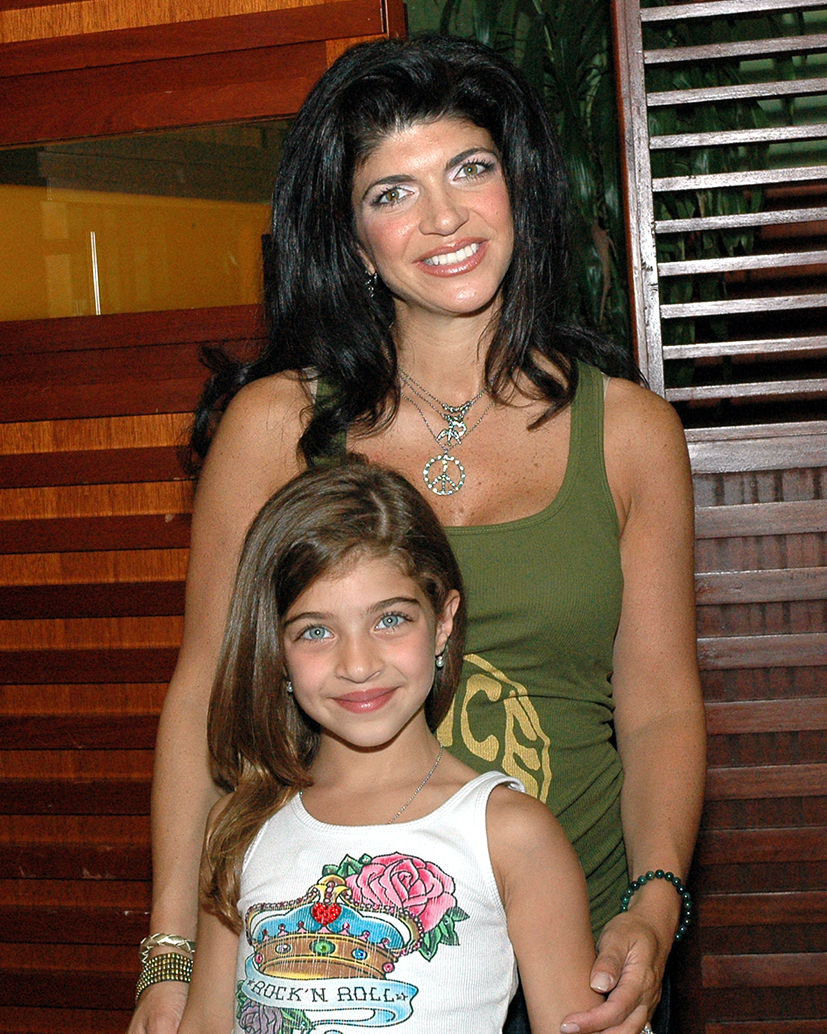 Teresa Giudice (The Real Housewives of New Jersey) with her daughter