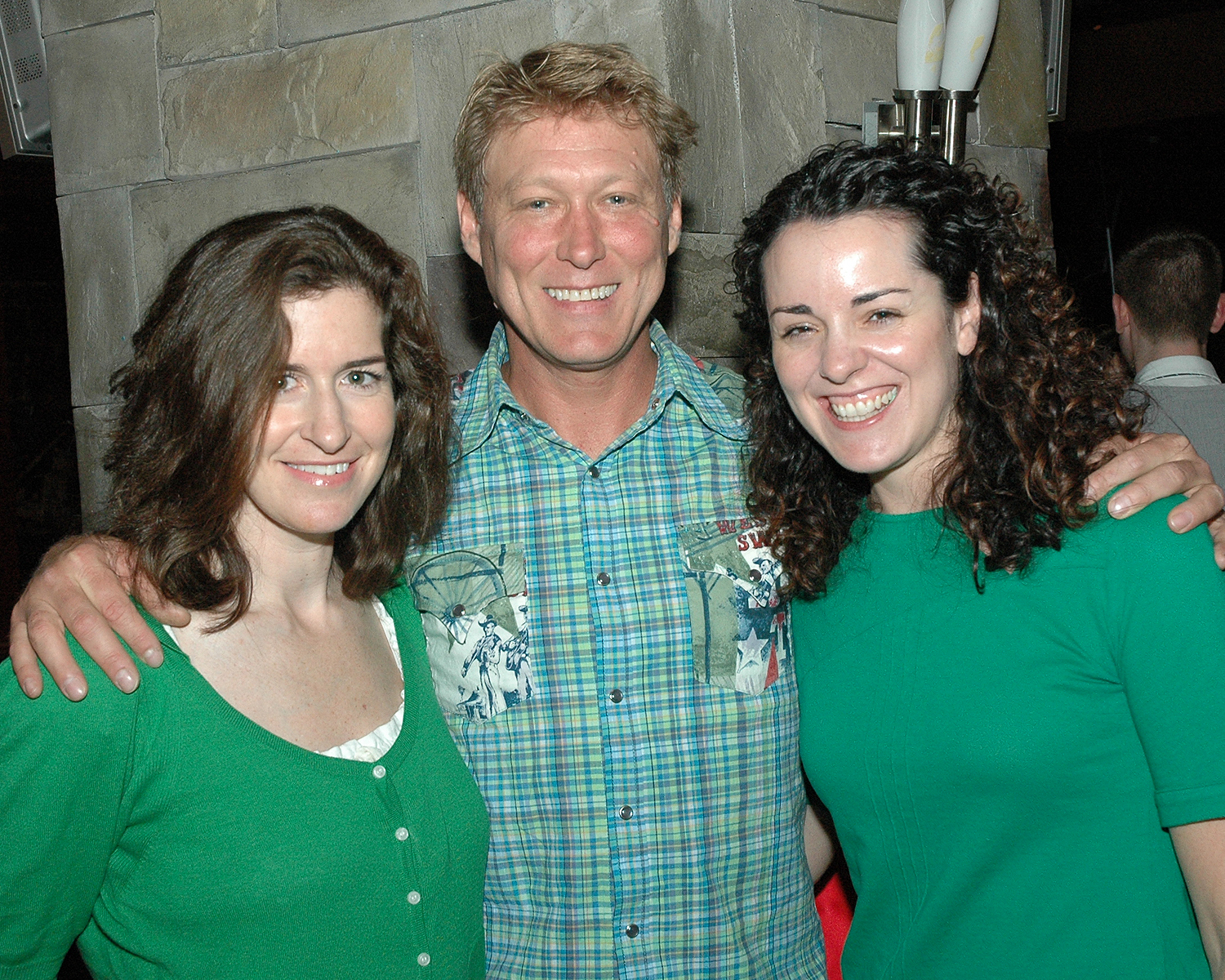 Jessica Greer Morris, Robert LaFosse and Anne West-Church