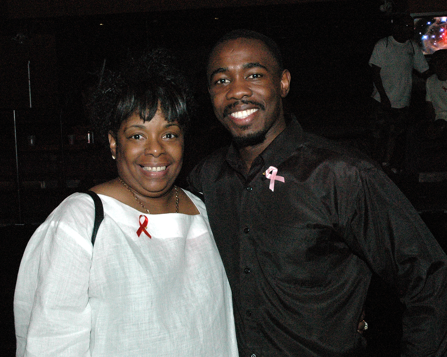 Diane Williams and Jean Pierre-Louis