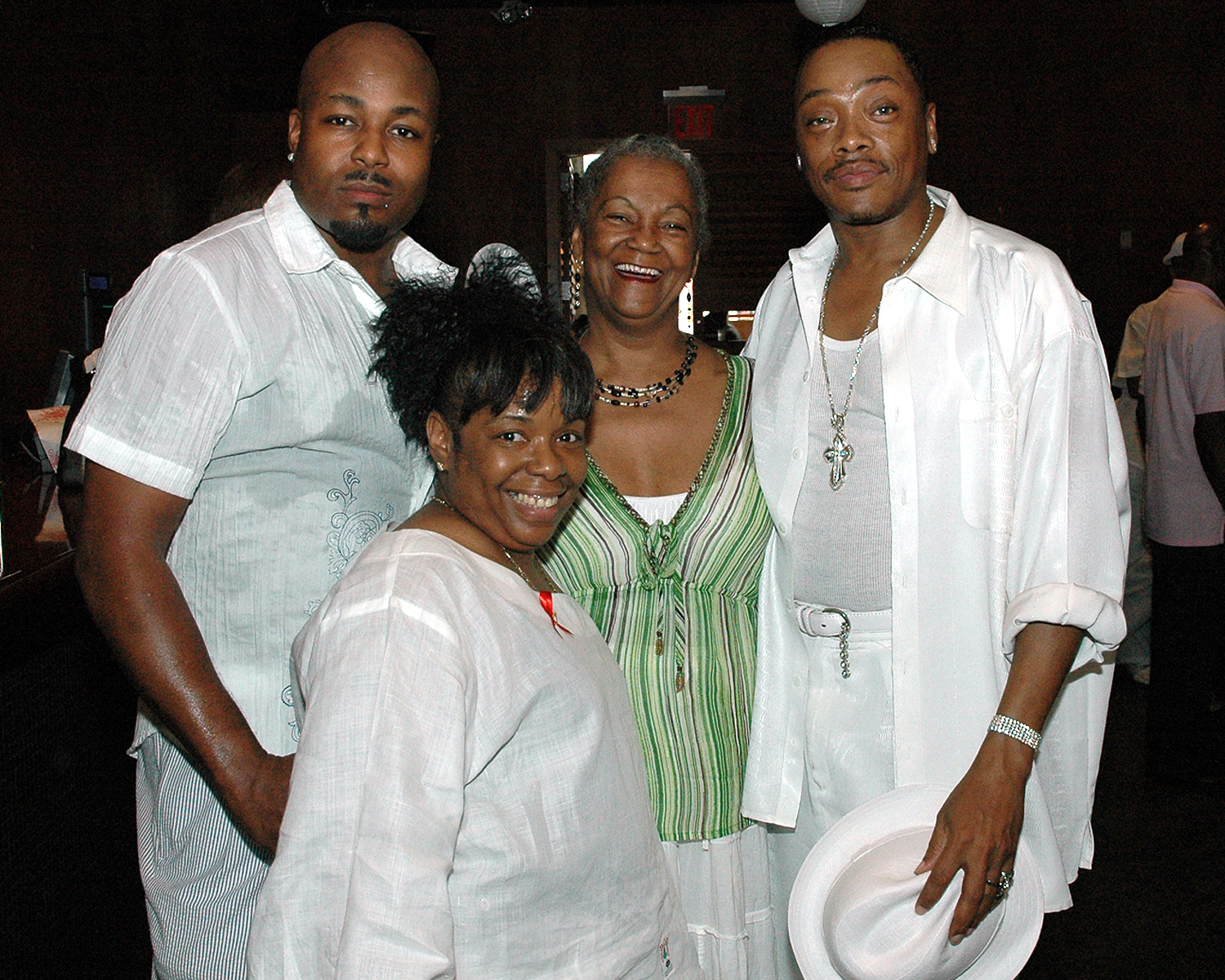 Gary Sneed, Joyce Myricks, Stephen Williams and Diane Williams