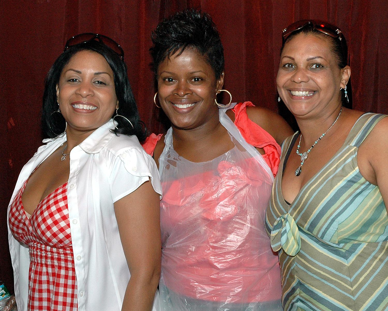 Astevia Grant, Annmarie Joseph and Pilar Peralta