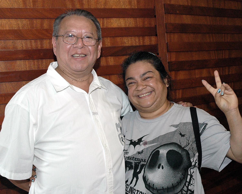 Francisco Mantilla and Linda Alfaro