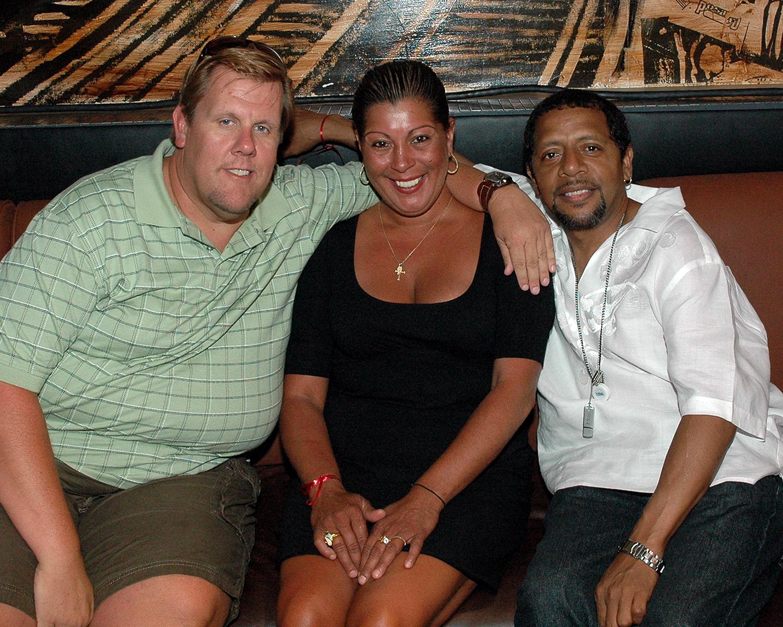 Brian Ball, Carmen Rivera and Manuel Ruiz