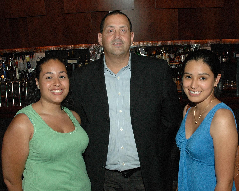 Cristina Polanco, Charles Cintron and Antoinette Ortiz