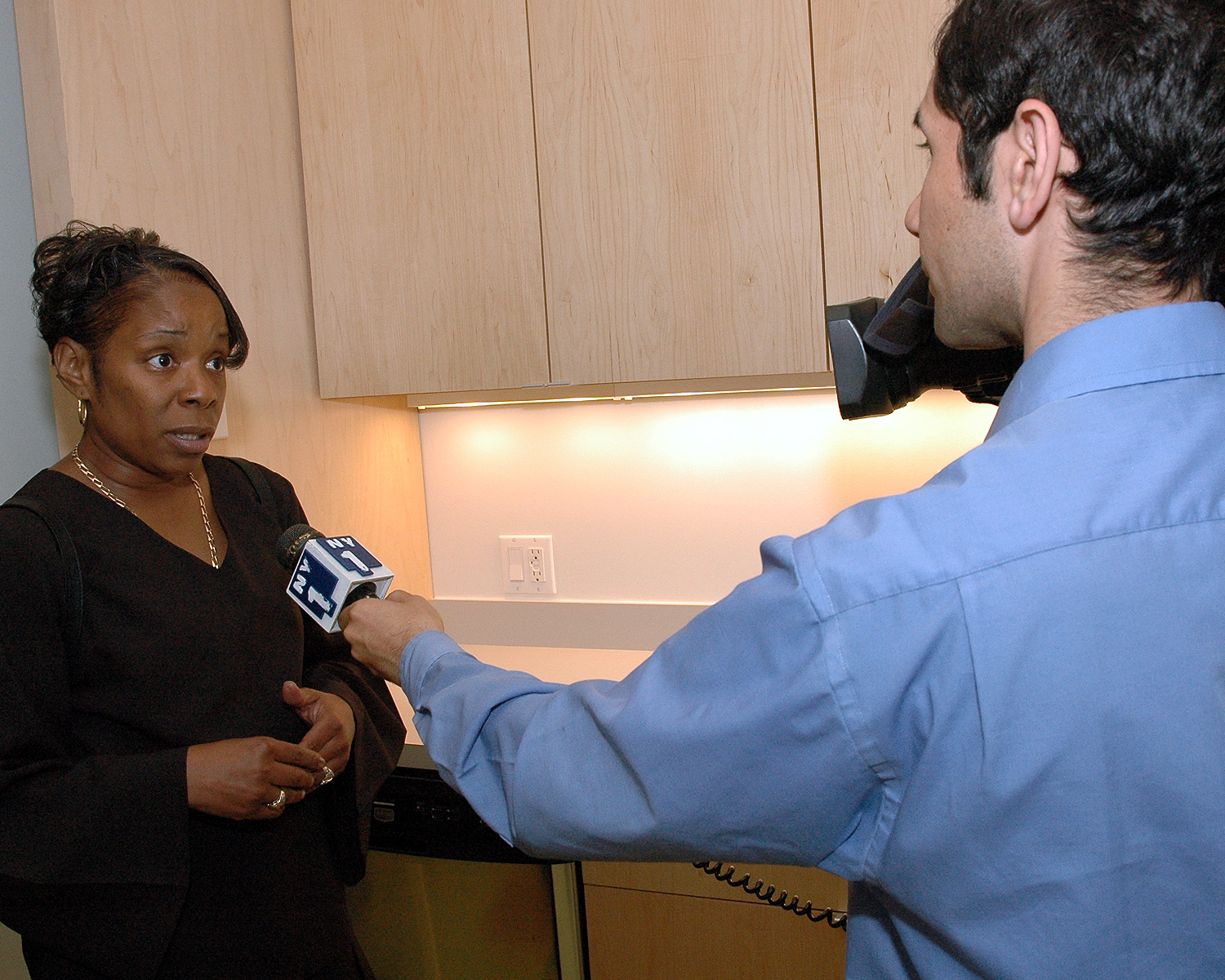 NY1 interviews Diane Williams