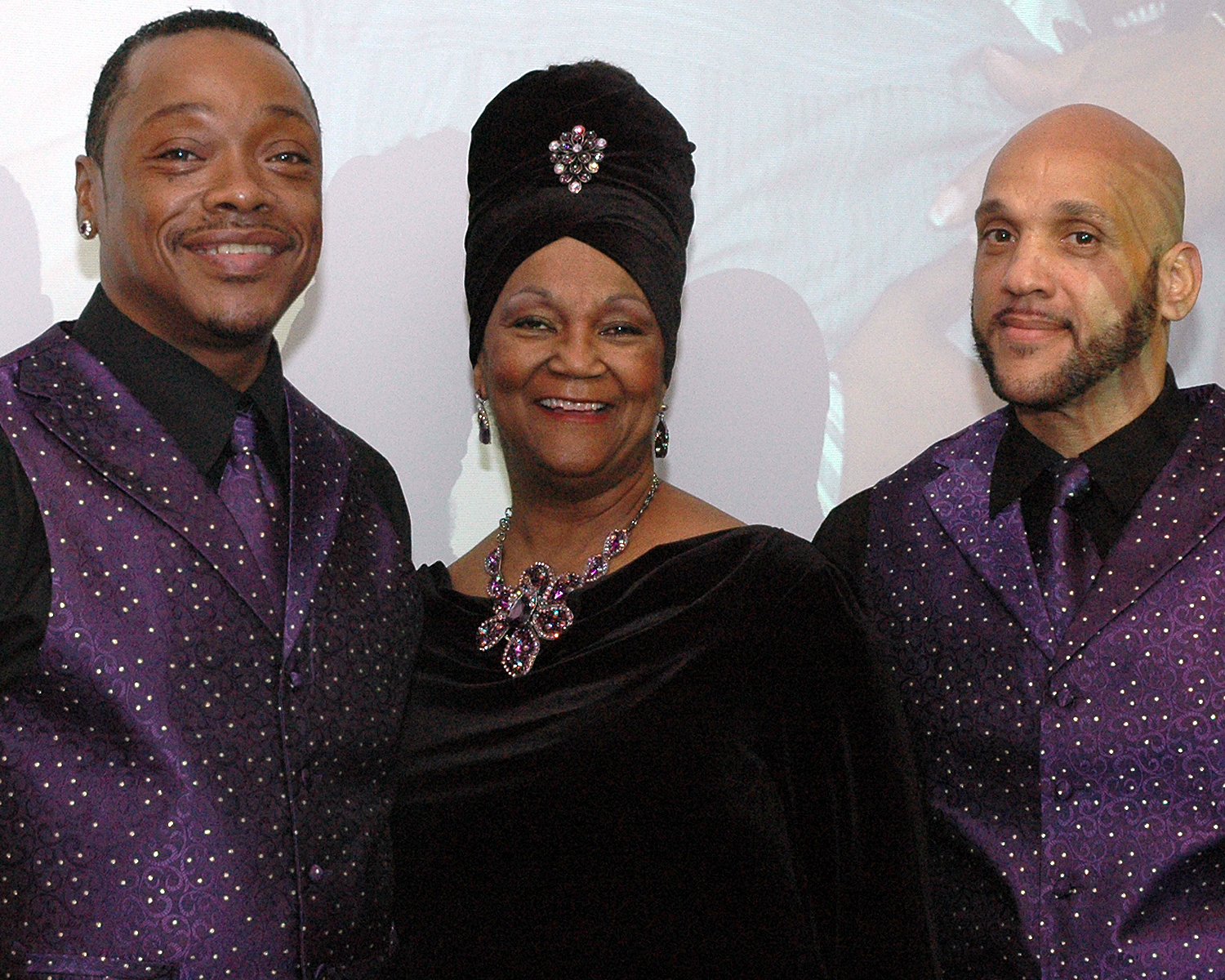 Stephen Williams, Joyce Myricks and Andre Jones