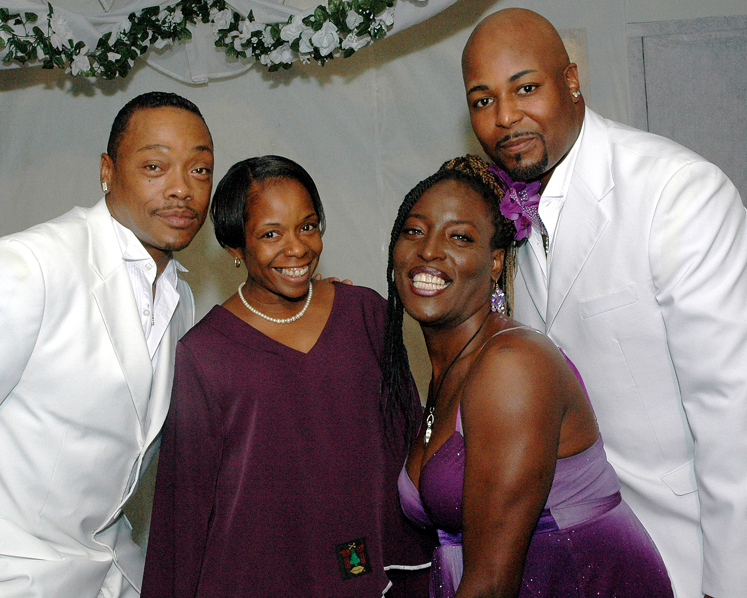 Stephen Williams, Diane Williams, Inkera Jordan and Gary Sneed