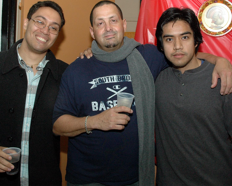 Cezar Deschoudens, Charles Cintron and Arnaldo Jara