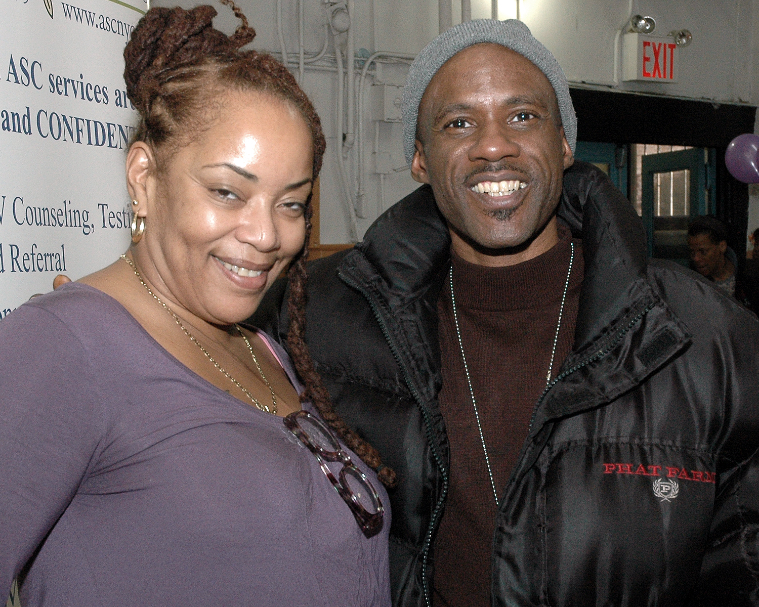 Deborah Yuelles and Raheem Kelly