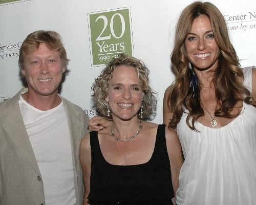 Celebrity Hosts Kelly Killoren Bensimon and Robert La Fosse with ASC CEO Sharen Duke