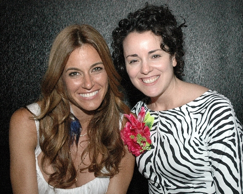 Celebrity Host Kelly Killoren Bensimon and ASC event organizer Anne West-Church