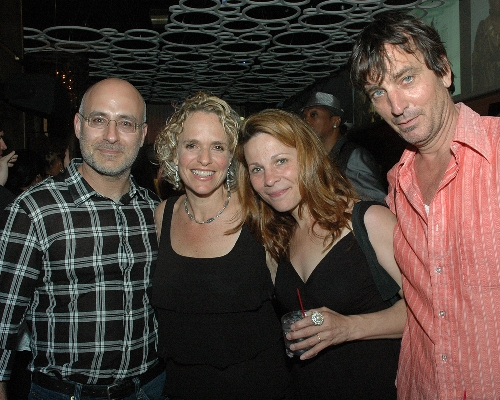 ASC Board Member Michael Kaminer and ASC CEO Sharen Duke with celebrities Lili Taylor and Nick Flynn