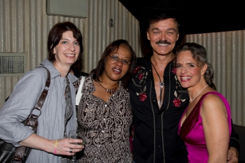 ASC Board Members Deni Robey and Yvette Mardis with CEO Sharen Duke and Randy Jones