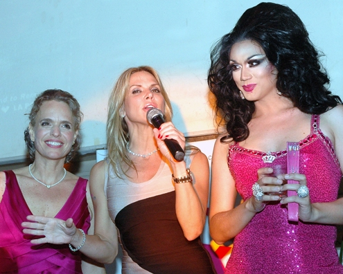 Celebrity Host Manila Luzon with Savanna Samson and ASC CEO Sharen Duke