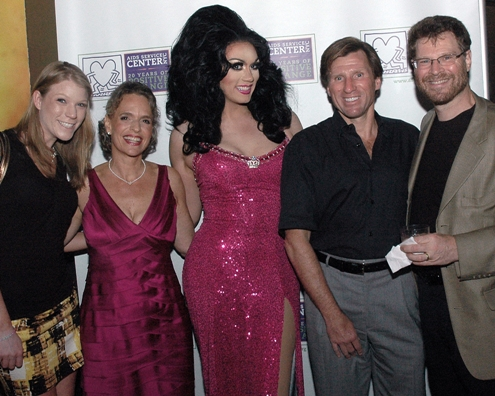 Guests at Safer Sex in the City with ASC CEO Sharen Duke and Celebrity Host Manila Luzon