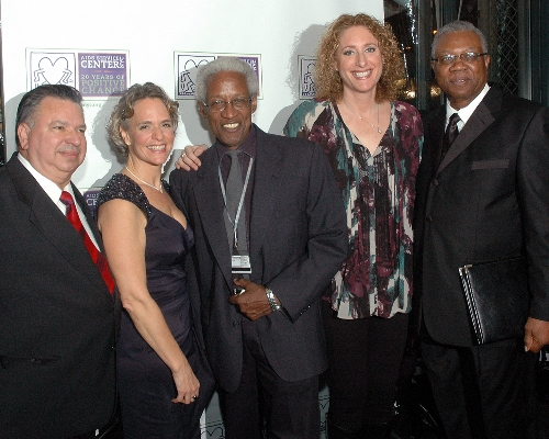 Honorees with ASC CEO Sharen Duke, Host Judy Gold and Board Chair Bill Toler
