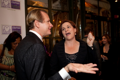 Host Carson Kressley & Speaker Christine Quinn