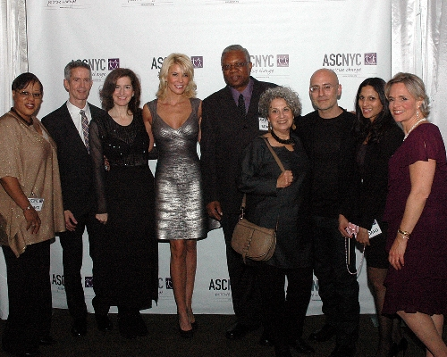 Celebrity Host McKenzie Westmore with ASCNYC Board