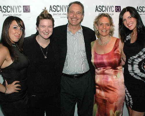 ASCNYC CEO Sharen Duke with Guests at HEAT