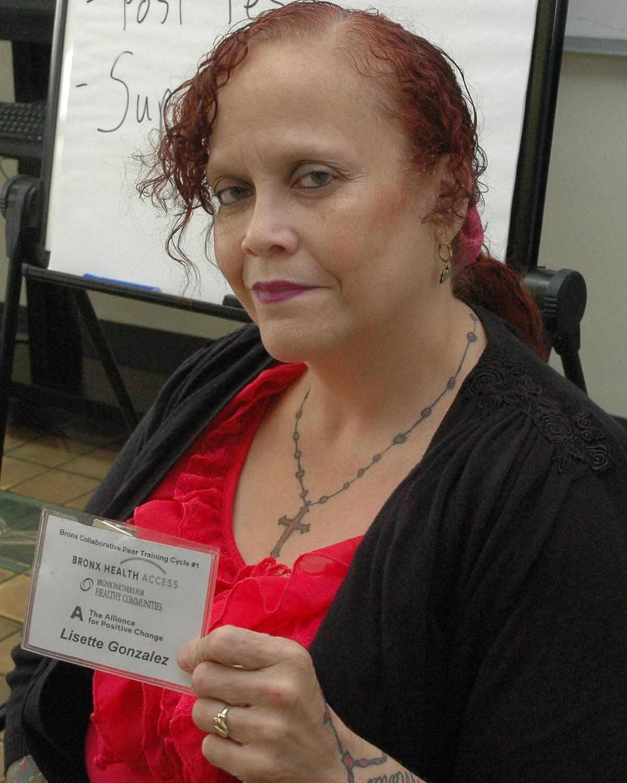 Lisette Gonzalez - Peer Intern Trainer