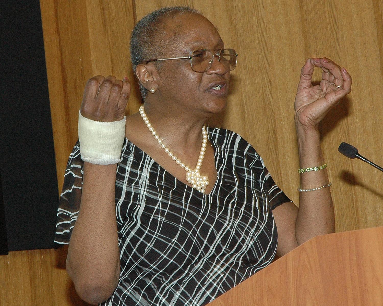 Keynote Address - Florence Punch, Former Peer Graduate