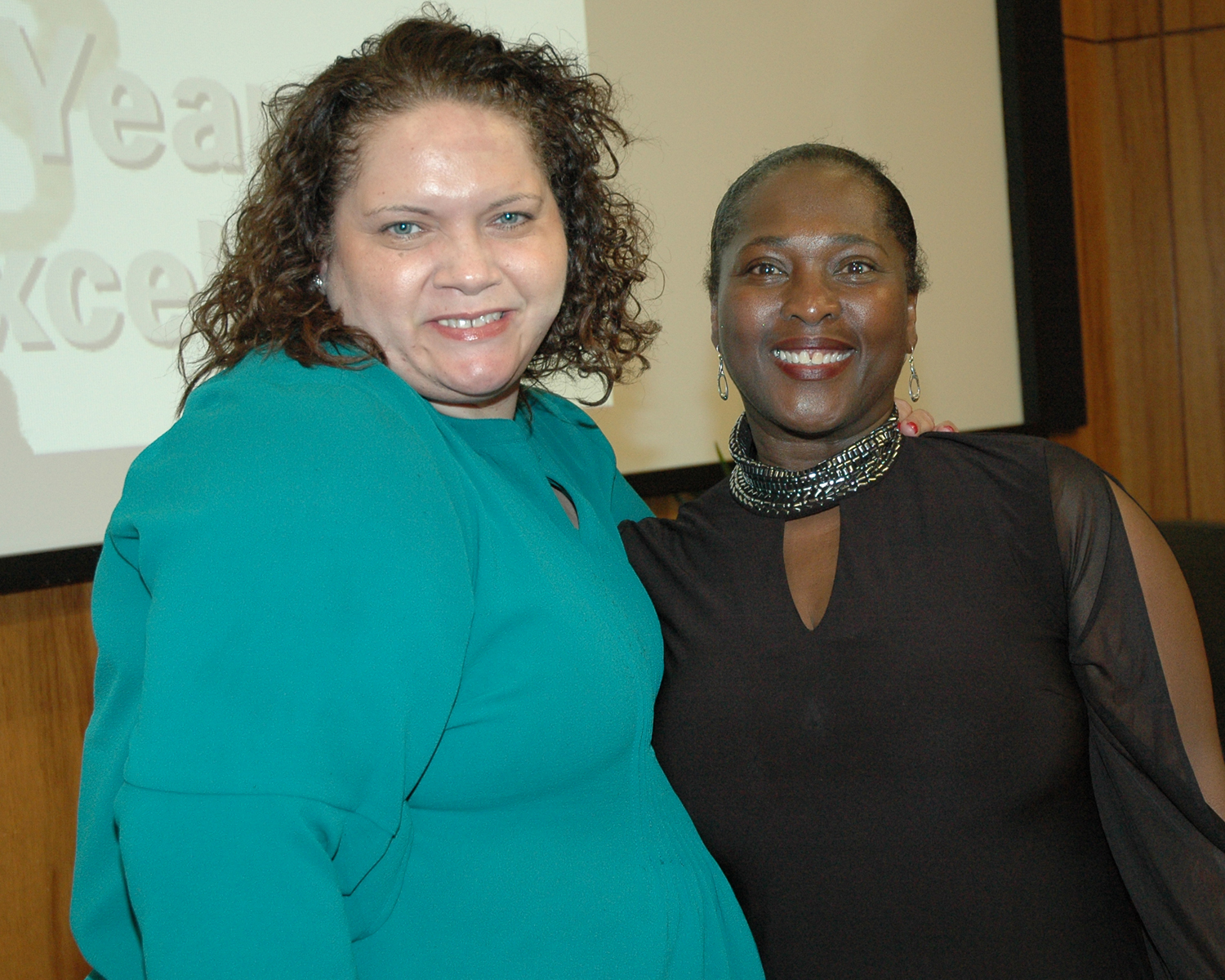 Johanne Morne, Director of NYSDOH AIDS Institute and Brenda Starks-Ross, Deputy Executive Director/COO
