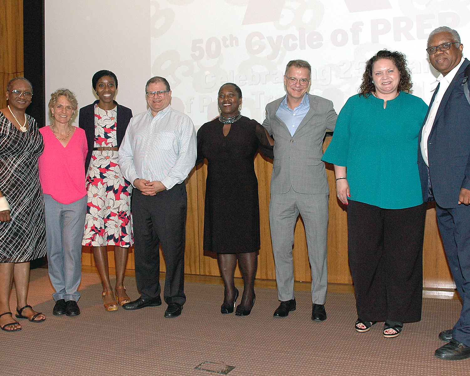 Sharen I. Duke with Honored Guests and Alliance Board members