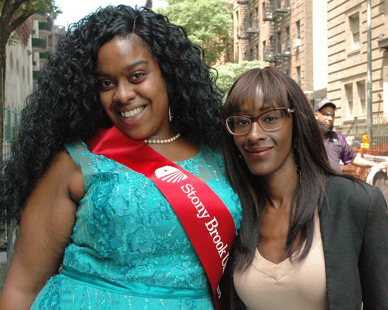Diane and Malika