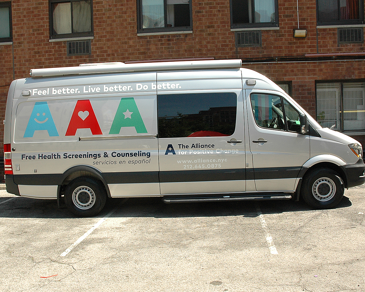 Alliance On The Move - Mobile Van