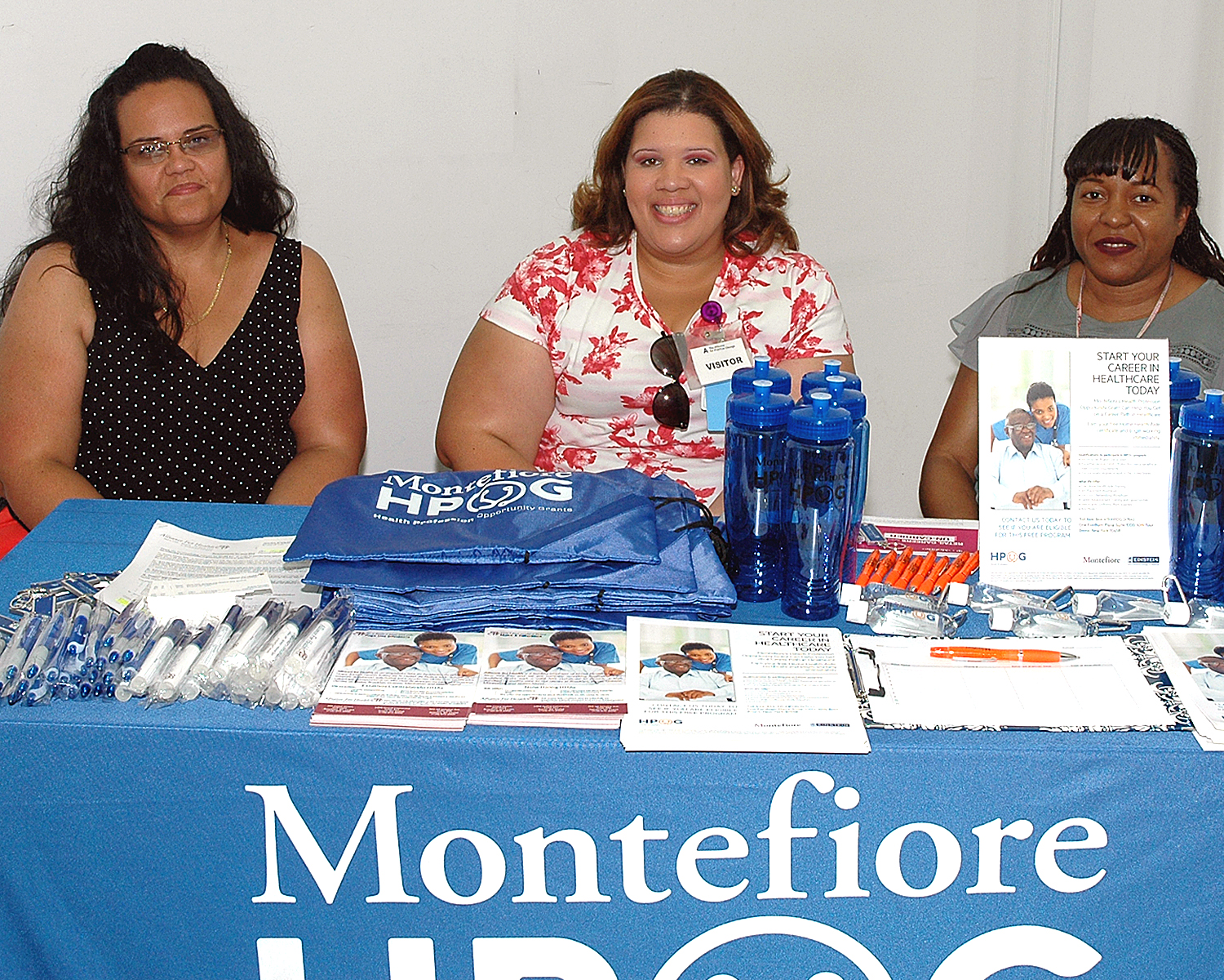 Three interviewers from Montefiore Hospital