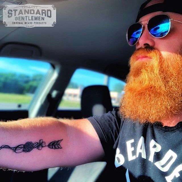 We don't appreciate negative vibes around here. Move along.  @bearded_ginger14  Standard Gentlemen is here to help men grow and maintain their beards and lives.  Join the movement. Get yours today at StandardGentlemen.com Link in bio.  Premium Beard Oils, Butters, & Balms. Free Shipping Within The U.S. . . . #ThatBeardTho #Beard #Beards #Bearded #BeardOn #BeardLife #BeardedDad #BeardCare #BeardOil #BeardBalm #BeardButter #BeardedVillains #BeardsOfInstagram #InstaBeard #Beardstagram #BeardNation #BeardedMen #BeardedGuys #BeardGame #BeardStyle #BeardedLifestyle #BeardLove #BeardLover #BeardLovers #BeardedForHerPleasure #SheWantsTheBeard #Pogonophile #BeardsAndTattoos #BeardCare #StayBearded