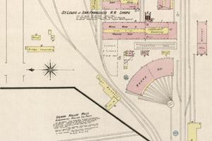 1886 - C-Street - RR Yards