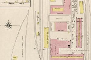 1891 - C-Street - RR Yards