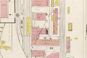 1896 - C-Street - RR Yards