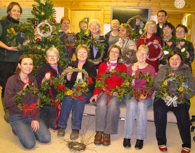 Think we can have even more fun than these folks! Come help with our wreaths this Sunday!