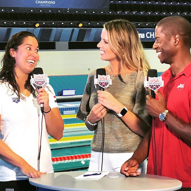 """""""Yo @ranomikromo remember when we raced each other in the 2012 Olympics? No? Maybe cuz you got first and I tied for 16th.""""😂🙌 #deckpasslive"""