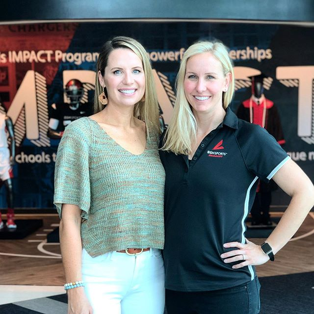 Dallas 2019 ➡️ Omaha 2012 ➡️ Melbourne 2007 😂 I had a great time chatting with the team at @bsnsports HQ today including my old friend @swimhardy :) #tbt #50freebaby #👶🏼