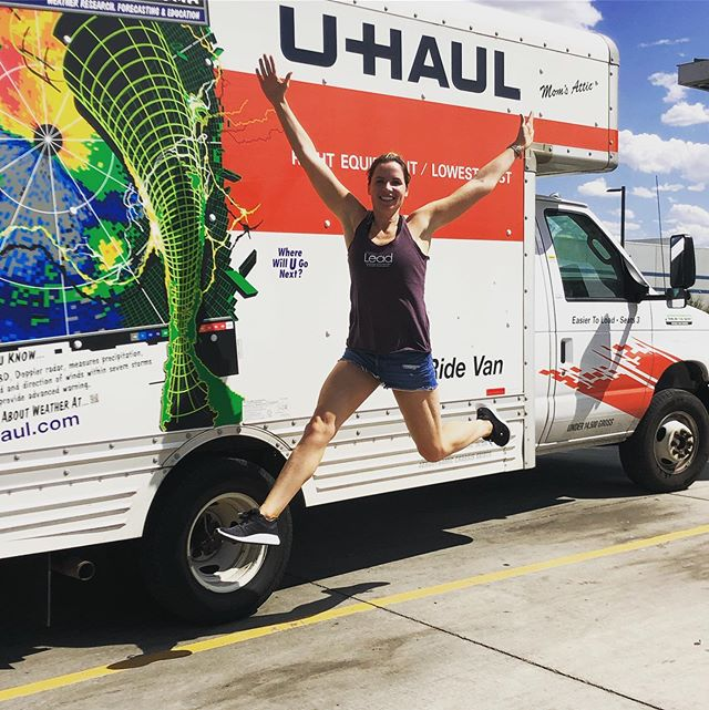 After a long haul from Atlanta, I'm so excited to say the Lead event truck has officially arrived in Denver! I cannot wait to bring our 2020 @leadsportssummit to this beautiful city next Labor Day weekend 😊 On a side note, being a ceo means doing all the things. Like driving across the country 💁♀️🚚 #allthecoffee #allthemurderpodcasts