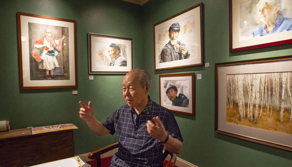 Guan Weixing speaks about his inspiration and subjects in his third solo exhibition at Ambleside Gallery in Greensboro, NC.