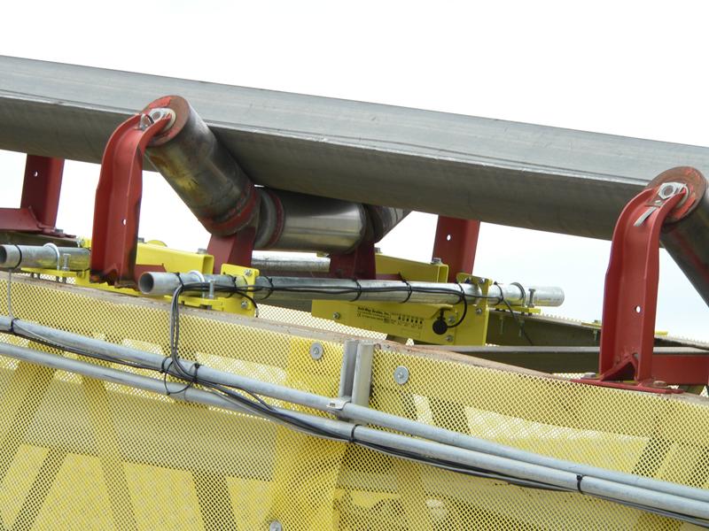 Belt-Way Scale on Aggregate Conveyor