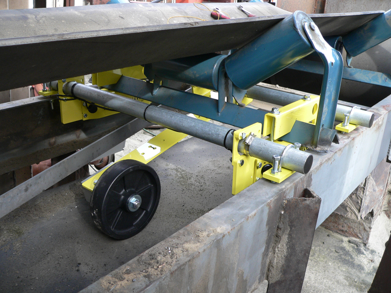 Belt-Way Scale on Slag Conveyor