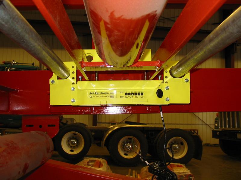 Belt-Way Scale on Stacking Conveyor