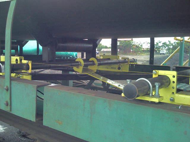 Belt-Way Scale on Ship Loadout Conveyor