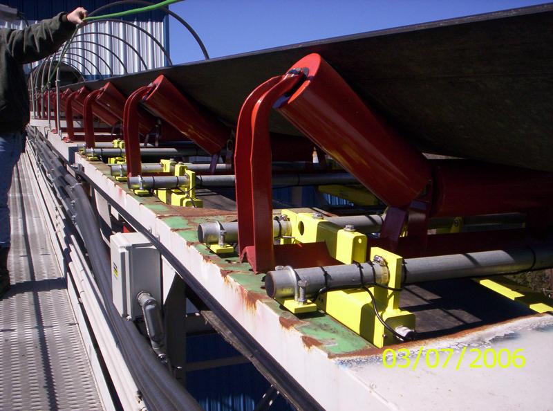 Belt-Way Scale on Coal Conveyor