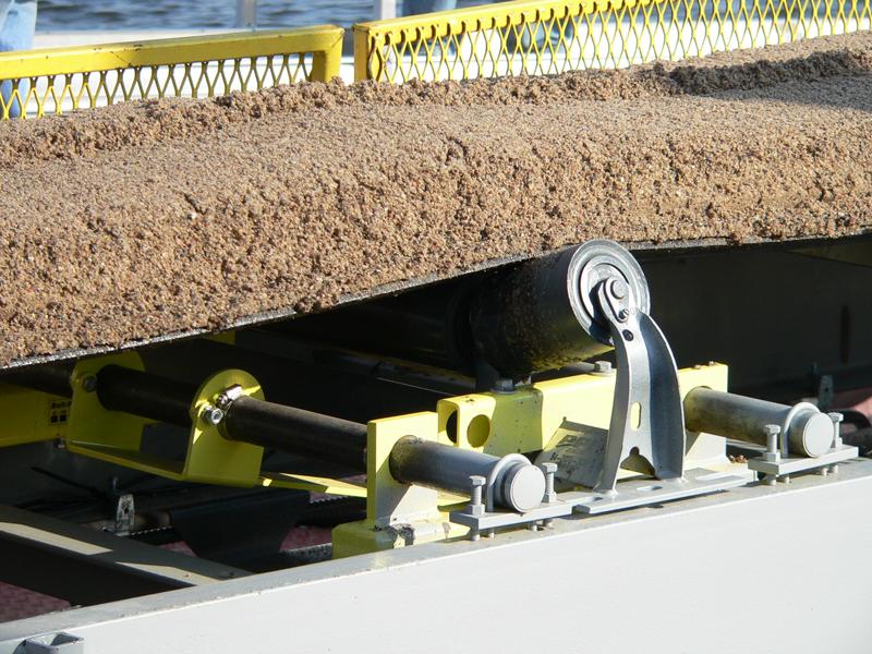 Belt-Way Scale on Dredge Conveyor