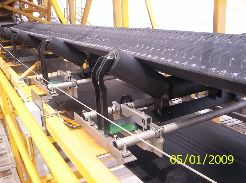 Belt-Way Scale on Salt Conveyor
